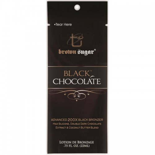 Brown Sugar, 200х Легкий лосьон с Маршмеллоу для загара мгновенного действия Black Chocolate, 22 мл