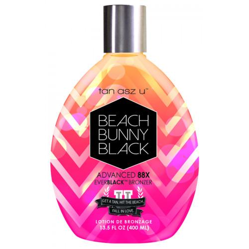 Tan Asz U, 88х Витаминный лосьон для загара мгновенного действия Beach Bunny Black, 400 мл
