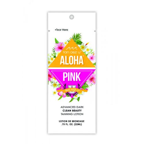 Tan Asz U, Увлажняющий крем-активатор загара, для естественного набора оттенка Aloha Pink, 22 мл