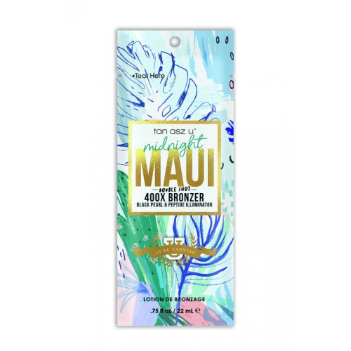 Tan Asz U, 400х Жемчужный лосьон для загара с защитой тату от выцветания Midnight Maui, 22 мл